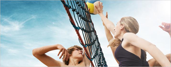 Sportart Beachvolleyball