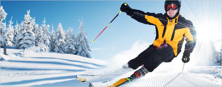 Sportart Skiabfahrt