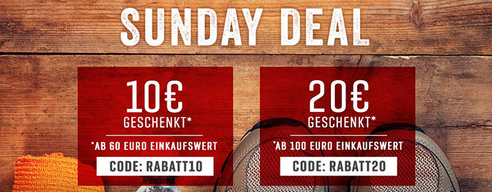 BA Kategorie Sunday Deal 25FEB18