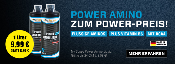 BBde Power Amino Liquid MAI15