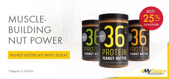 BBsz Protein Peanut Butter JUL16