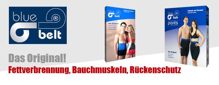 Rubrik Bauchtrainer - blue belt