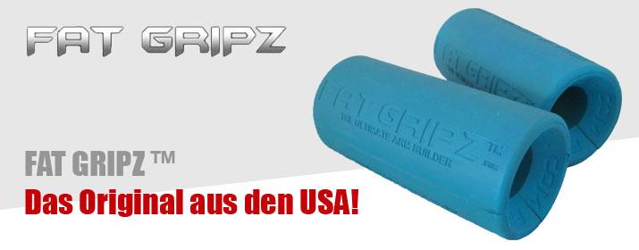 Rubrik Fitnessgeraetezubehoer - FAT GRIPZ