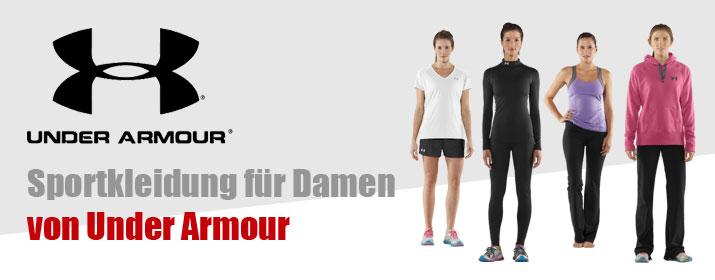 Rubrik Sportkleidung Damen - Under Armour