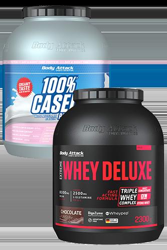 24 Stunden Muskelaufbau Protein Paket - 4100g