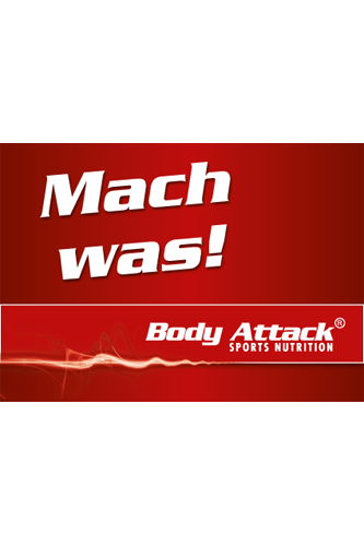 Body Attack Aufkleber - Mach was!