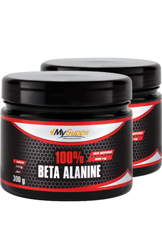 My Supps 100% Beta Alanine - 300g Doppel-Pack