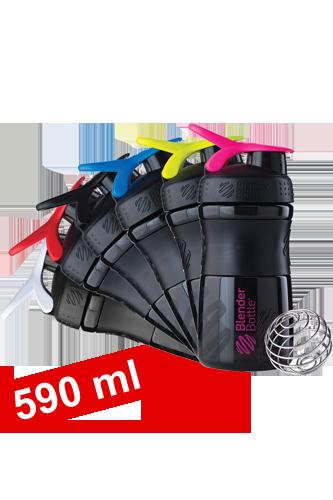 BlenderBottle 590ml Sportmixer black Restposten