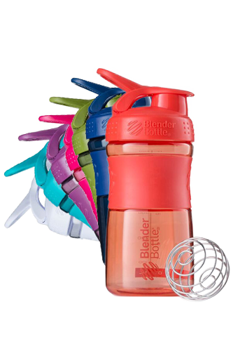 BlenderBottle 590ml Sportmixer transparent