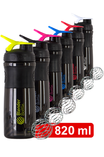 BlenderBottle Sportmixer black Shaker 828ml