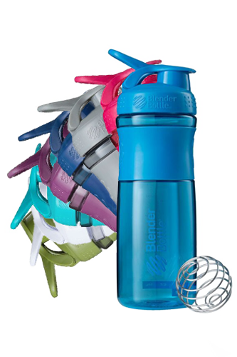 BlenderBottle Sportmixer transparent Shaker 828ml