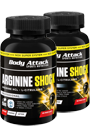 Body Attack Arginine Shock - 80 Caps Doppel-Pack