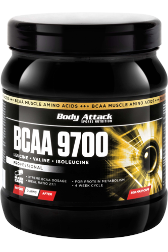 Body Attack BCAA 9700 - 300 Caps