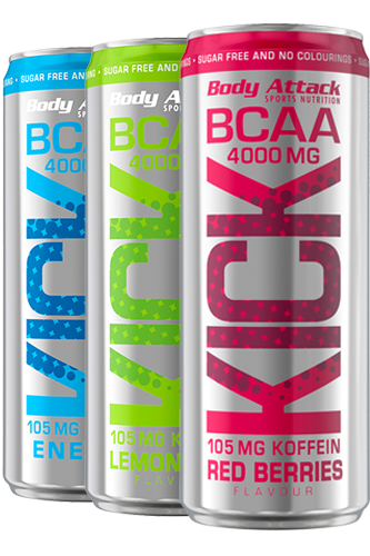 Body Attack BCAA KICK - 330ml