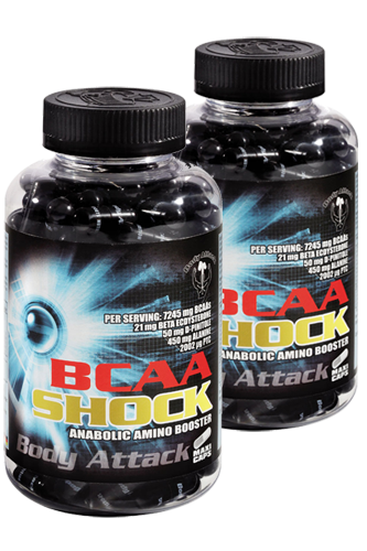 Body Attack BCAA Shock - 120 Caps Doppel-Pack