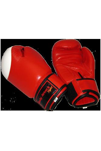 Body Attack Boxhandschuhe B�ffelleder rot/wei�