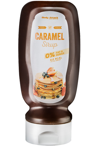 Body Attack Caramel Sirup - 320ml