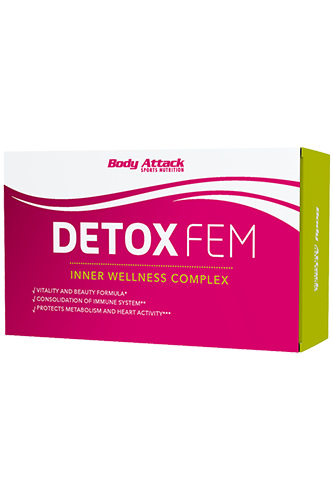 Body Attack Detox FEM - 60 Caps