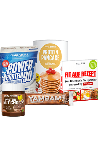 Body Attack Fit auf Rezept Paket