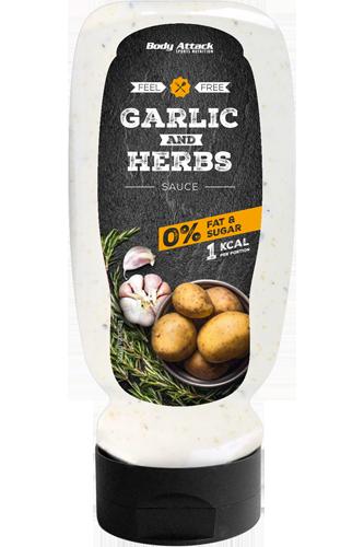 Body Attack Garlic & Herbs Sauce - 320ml Restposten