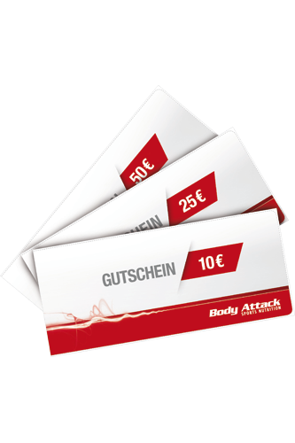 Body Attack Gutschein �ber 50,- Euro