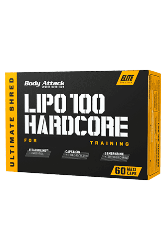 Body Attack LIPO 100-HARDCORE - 60 Caps