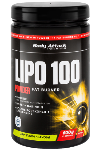 Body Attack LIPO 100-Powder - 600g