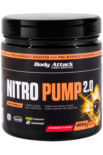 Body Attack Nitro Pump 2.0 - 400g