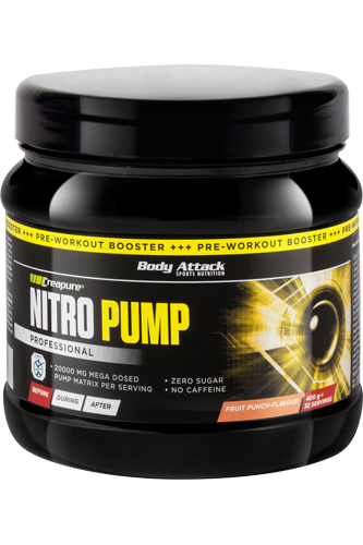 Body Attack Nitro Pump 400g