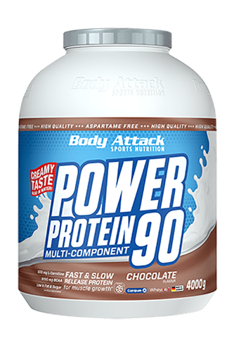 Body Attack Power Protein 90 - 4kg NEW