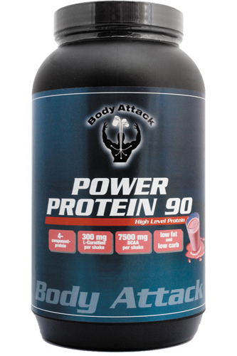 Body Attack Power Protein 90 - 1kg Aktion