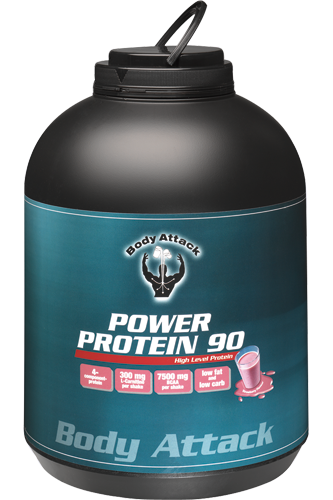 Body Attack Power Protein 90 - 4kg Aktion