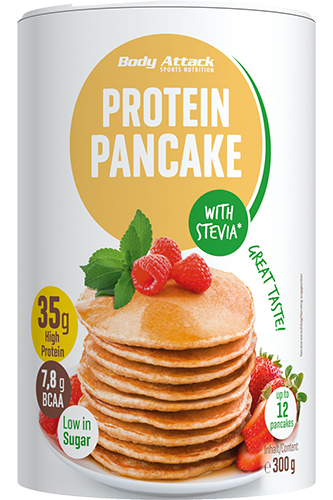 Body Attack Protein Pancake Stevia - 300g