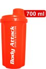 Body Attack Protein Shaker - neon orange