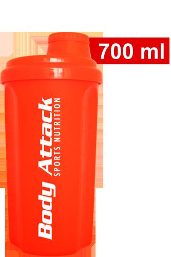 Body Attack Protein Shaker - neon orange