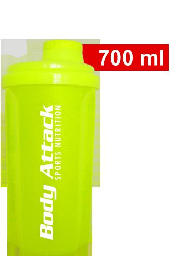 Body Attack Protein Shaker - neon yellow