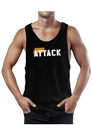 Body Attack Sports Nutrition Stringer Tank Top ATTACK
