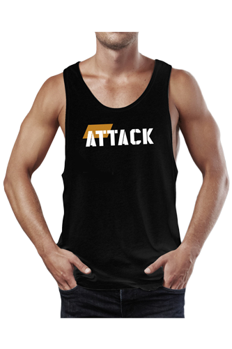 Stringer Tank Top ATTACK