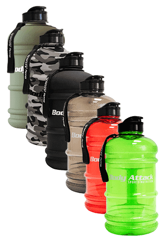 Body Attack Sports Nutrition Water Bottle XXL -...