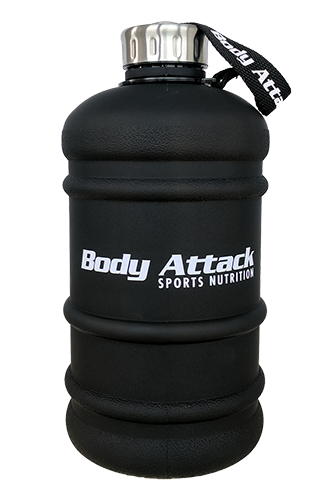 Body Attack Sports Nutrition Water Bottle XXL 2...