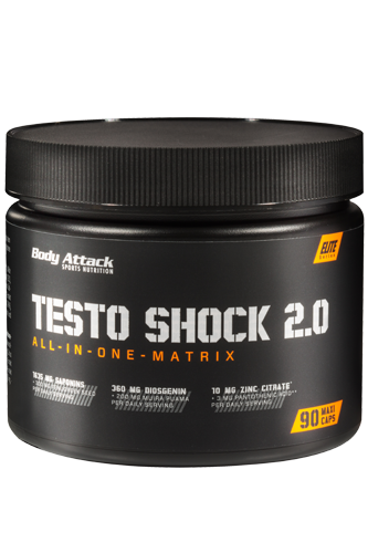 Body Attack Testo-Shock - 90 Maxi-Caps