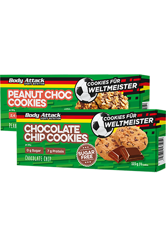 Body Attack Low Sugar Cookies WM Edition - 115g