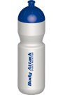 Body Attack Trinkflasche - 750ml wei�-blau