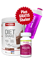 Body Attack Di�t Paket Women Standard