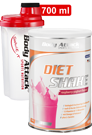 Body Attack Di�t Shake + Shaker transparent rot