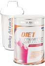 Body Attack Di�t Shake + Shaker weiss