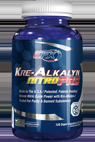 EFX Kre-Alkalyn Nitro Pro - 120 Super-Caps Rest...