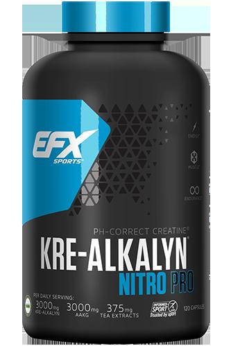 EFX Kre-Alkalyn Nitro Pro - 120 Super-Caps