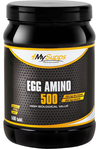 My Supps Egg Amino - 500 Tabs