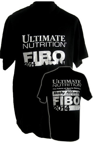 Ultimate Nutrition FIBO 2014 T-Shirt